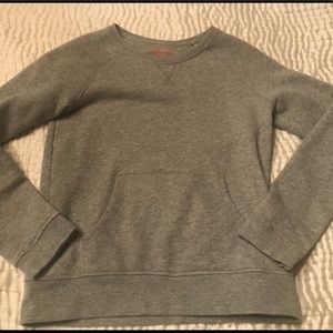 JOE FRESH grey sparkle pullover, girls xl
